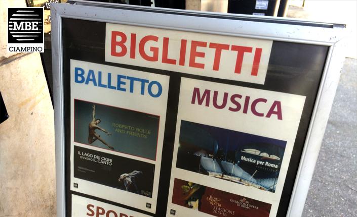 Biglietteria Mail Boxes Etc. Ciampino - Roma (MBE Ciampino)