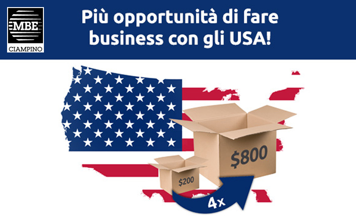 news spedizioni USA Mail Boxes Etc. Ciampino - Roma