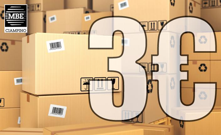 domiciliazione e ricezione pacchi Mail Boxes Etc. Ciampino - Roma