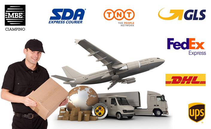 Mail Boxes Etc Ciampino - Spediamo in tutto il mondo con SDA, GLS, Fedex, UPS, TNT, DHL