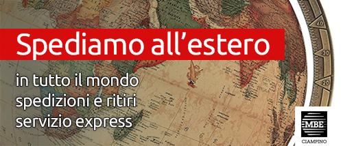 Spedizioni internazionali Mail Boxes Etc. Ciampino - Roma