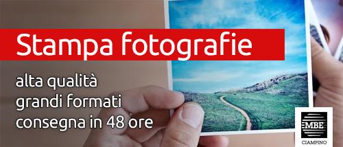 Stampa fotografie Mail Boxes Etc. Ciampino - Roma
