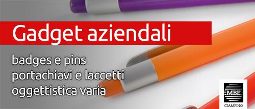 Gadget aziendali Mail Boxes Etc. Ciampino - Roma