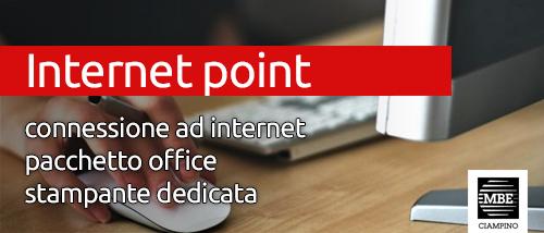 Postazione web e Microsoft Office Mail Boxes Etc. Ciampino - Roma