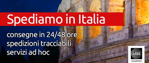 Spedizioni in Italia Mail Boxes Etc. Ciampino - Roma