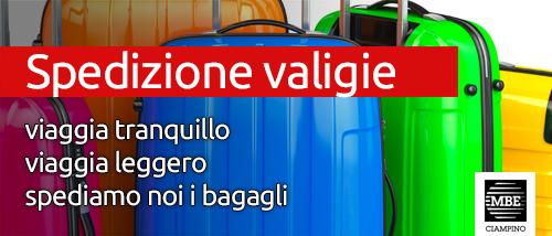 Spedizione valigie Mail Boxes Etc. Ciampino - Roma