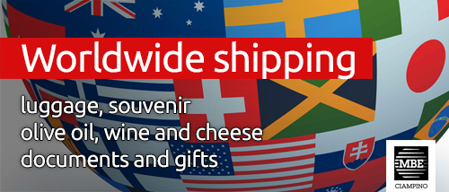 Worldwide shipping Mail Boxes Etc. Ciampino - Roma